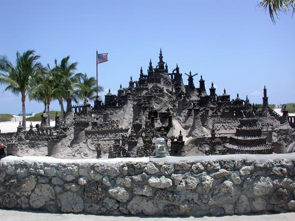 South Beach Sand Castle