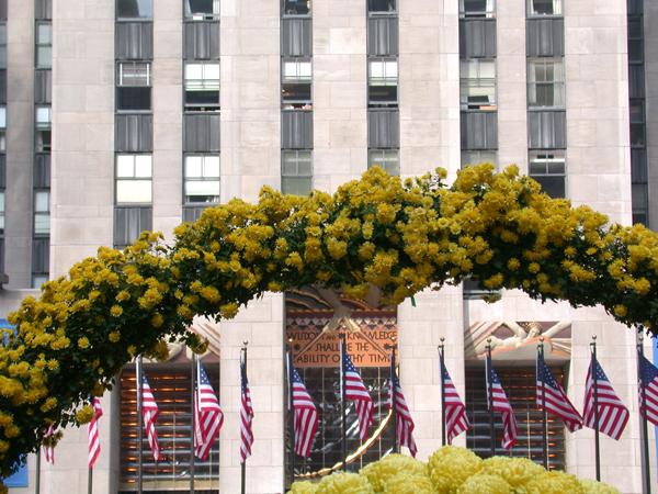 Rockefeller Center. October 2008.