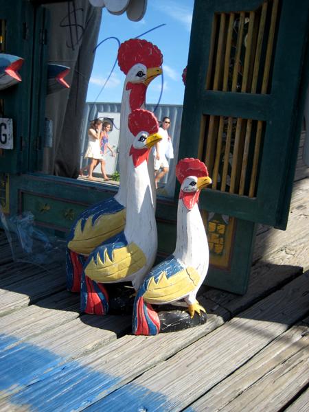 three-hens-three-girls